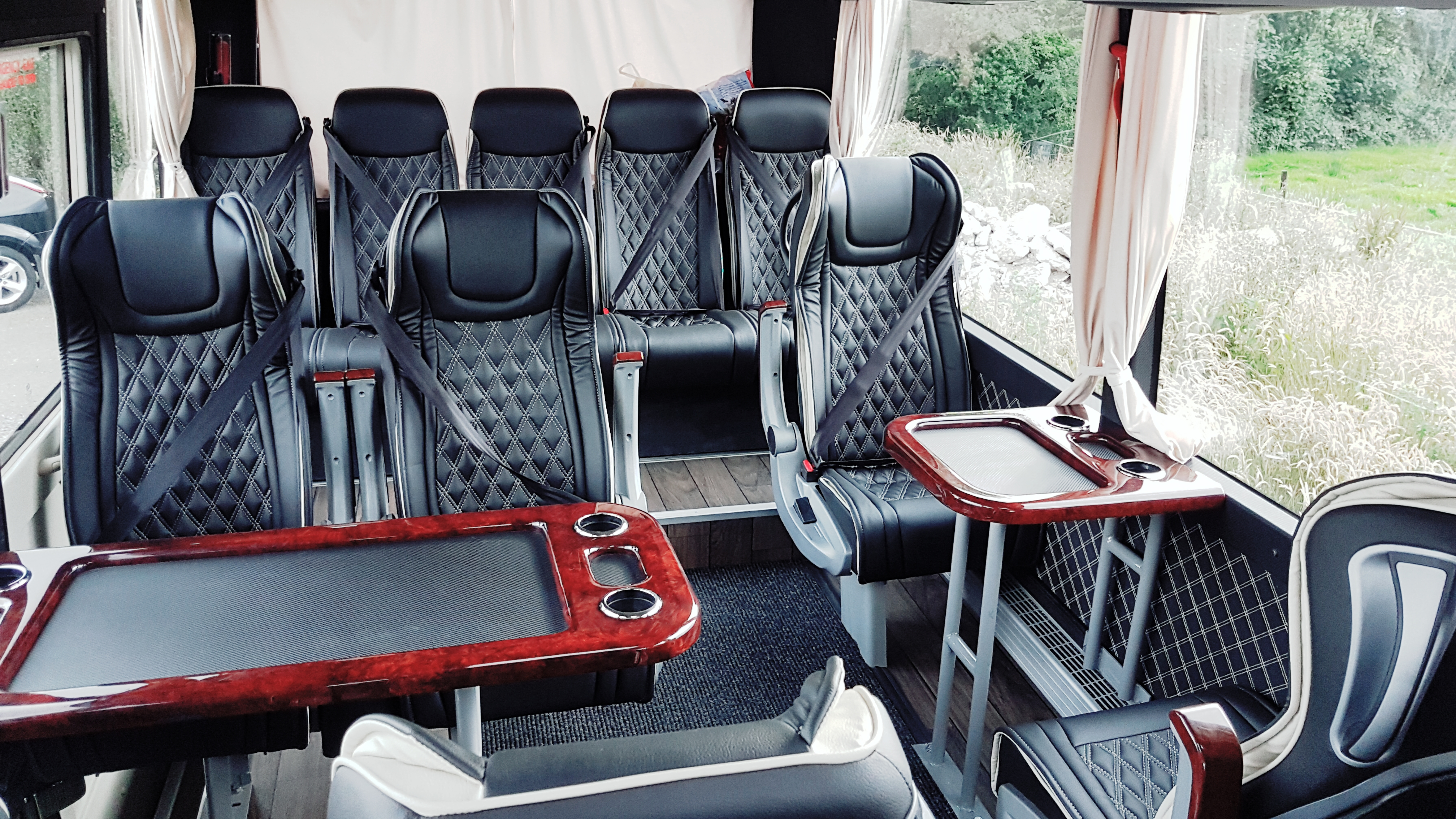 16 Seater Bus with Tables - Flynn's Coaches