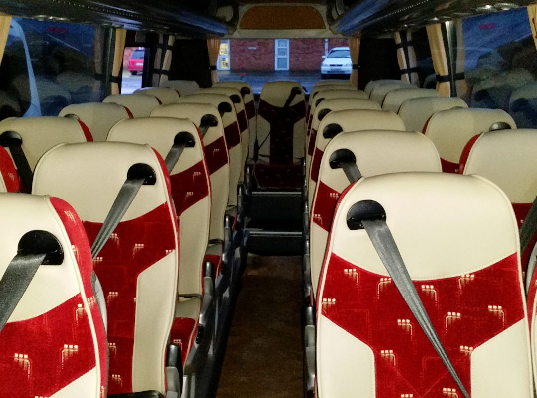 29 Seater Coach - interior - Flynn's Coaches