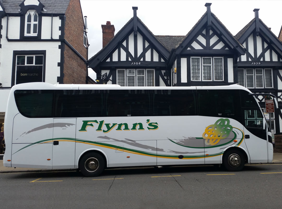 29 Seater with Tables - Flynn's Coaches