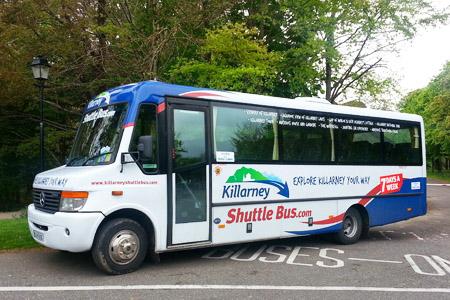 Killarney Shuttle Bus - Flynn's Coaches