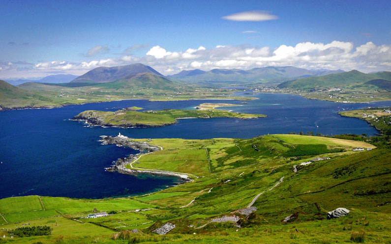 Travel along the Ring of Kerry, the Jewel in the Crown of Irish Tourism